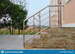 Railing Design Stainless Steel Handrail Stock Photo Image Of Guard 149198846