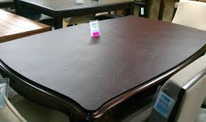 Vinyl Table Pad Dining Room Table Protector Dining Room Table Cover Delectable Pad For Dining Room Table