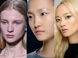 burberry qe3 2016 autumn winter makeup trends glitter embellishments fall winter 2016 runway makeup trend