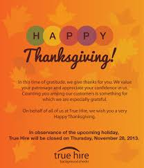 Employee Thanksgiving Message Festival Collections