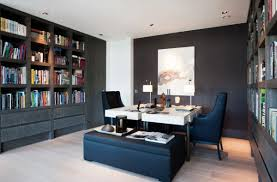 home office room ideas home. Gorgeous-modern-home-office-design-with-twin-workstations Home Office Room Ideas V