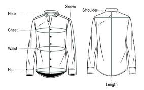 Mens Kurta Mens Shirt Size Chart