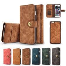 iphone 6 plus case iphone 6s plus case pu leather wallet magnetic pc shell