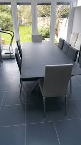 extendable dining table urban ceramic