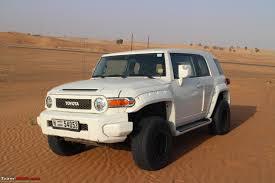 Dune Bashing in Dubai with the FJ Cruiser, Jeep Wrangler etc ...