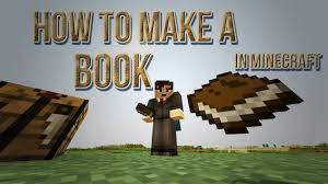 How To Make a Book In Minecraft Sugar Cane Paper Leather