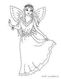 Fairy Coloring Pages For Kids Fairy Coloring Pages Fairy World