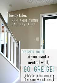 Foyer Wall Colors Gone With The Beige Hello Greige Jenna Burger