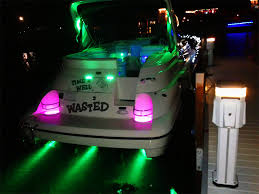 photos led underwater lights for boats