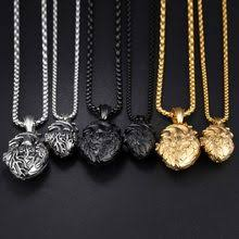 heart pendants necklaces men jewelry black 316l snless steel necklace anatomically organ punk charm necklace gift