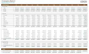Small Business Budget Template Xls Excel Within Skincense Co
