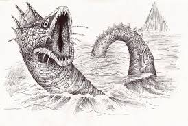 sea monster drawing. Delighful Drawing Deltora Quest Sea Monster By JRayner  Intended Drawing O