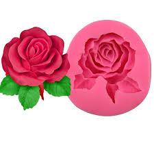 <b>3D Rose</b> Mold Silicone Rose <b>Flower</b> Cake Mold <b>Soap</b> Chocolate ...