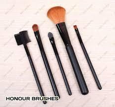 5 pcs make up brush cosmetic set kit case 01
