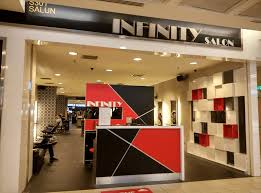 infinity hair salon business logo picture