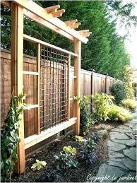 garden wall trellis metal trellises modern designs fresh decoration