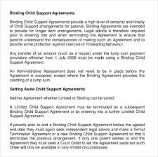 writing your own child support agreement child support agreement letter