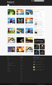 Wordpress Photo Gallery Theme Expose Wordpress Gallery Theme Wp Css Gallery Template