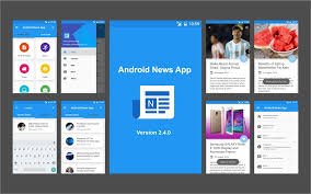 Newspaper App Template 9 Of The Best Mobile App Templates Of 2018 On Android Ios