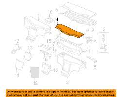 bmw z3 center console parts diagram likewise bmw z3 engine parts bmw oem 99 02 z3 rear console lid 51168412347