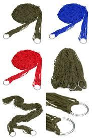 [Visit to Buy] FJS!<b>Deep Green Nylon Hammock</b> Hanging Mesh ...