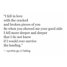 Falling Words Falling In Love Quotes Love Quotes Tumblr Poetry