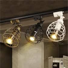 industrial track lighting systems. Industrial Track Lights Led Spotlights Clothing Shop Bar Cafe Exhibition Shoe Spotlight Lumiere Sur Rail Lampara Riel Luces Lighting Systems L
