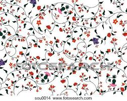 Vine Pattern Custom Drawings Of Illustration Of A Floral Vine Pattern Sou48 Search