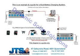 jamies volt camper wiring diagrams dual battery charging system