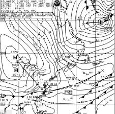 Surface Analysis Chart Noaa Boom Intense North Atlantic Storm Drops To 930 Millibars