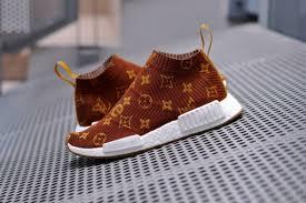 louis vuitton x adidas. these supreme x louis vuitton adidas originals nmd cs1 customs are insane | sneaker customisation the sole supplier a