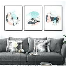 set of 3 wall art prints