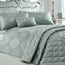 anise silver and duck egg quilt cover sets