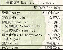 Product Biscuit Sake Vinasse Chlorella Spirulina Biscuit