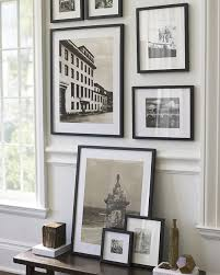 black and white framed wall pictures