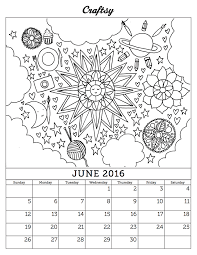 Calendar Coloring Pages 2017 At Getdrawingscom Free For Personal