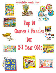 Top 10 Games \u0026 Puzzles for 2-3 year olds!   Stir the Wonder #playmatters #preschool #toddler and Year Olds PLAY Activities