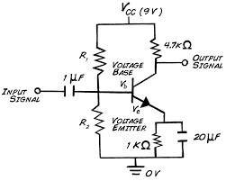 experiment transistor circuit design transistor theory that the transistor will not switch on out a lower limit voltage push and this is approximately 0 6 v for silicon based circuits