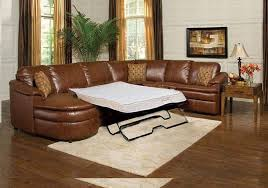 comfortable leather couches. Brown Leather Sectional Sleeper Sofa Comfortable Couches N