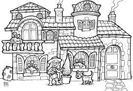 31 Dessins De Coloriage Maison Imprimer Coloriages De Maisons A Imprimer Maison Dessin L