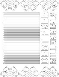Free Printable Debt Free Charts 53 Explicit Debt Free Chart