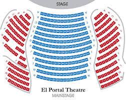 El Portal Theater Seating Chart The El Portal Theatre L Home Page