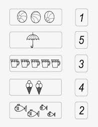 Small Picture basic math numbers 1 to 5 worksheet for preschool kids Dkidspage
