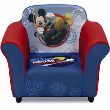 upholstered toddler chairs staggering disney mickey mouse toddler sofa chair and ottoman set by delta