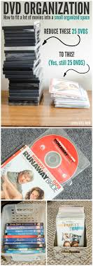 Space Saving Dvd Storage Dvd Organization How To Fit A Lot Of Movies Into A Small Space