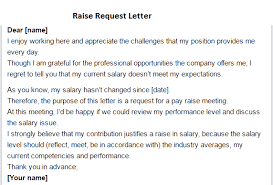 Request For Pay Raise How To Write A Request For Raise 10 Naples My Love