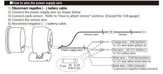auto gauge wiring diagram wiring diagram and schematic design autometer tach wiring diagram