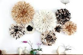 juju hat decor feather wall decor