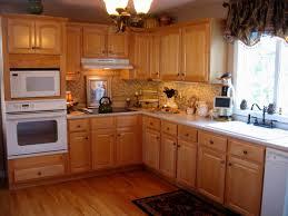 kitchen design white cabinets white appliances. Kitchen Oak Cabinets With White Appliances Marvelous Design Light Wood Kutsko For