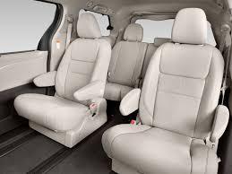 Image: 2016 Toyota Sienna 5dr 8-Pass Van XLE FWD (Natl) Rear Seats ...